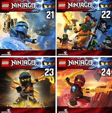 4 CDs * LEGO NINJAGO : MEISTER DES SPINJITZU - HÖRSPIEL 21-24 IM SET # NEU OVP §