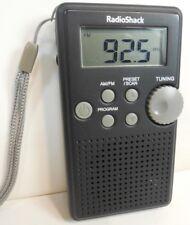 Vintage RADIO SHACK Digital AM/FM Pocket Radio #1200587 TESTED WORKS!
