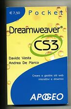 DREAMWEAVER CS3 Davide Vasta Andrea De Marco Apogeo 2007 Libro