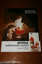 AH21=1972=APEROL APERITIVO=PUBBLICITA'=ADVERTISING=WERBUNG=