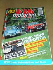 VW MOTORING - BEETLE CUP - June 1992