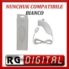 NUNCHUCK BIANCO COMPATIBILE CONTROLLER WII NUNCHUK PER NINTENDO LINQ TYW-1124A