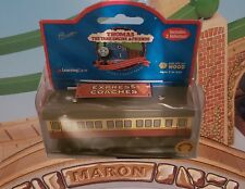 THOMAS & FRIENDS WOODEN RAILWAY1998 ~ EXPRESS COACHES  ~ LC99088 EXTREMELY RARE