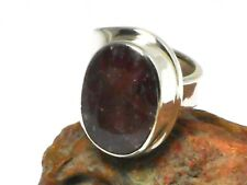 Adjustable   RUBY   Sterling  Silver   925   RING  -  Gift  Boxed!