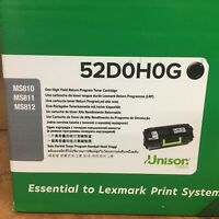 GENUINE Lexmark 52D1H00 52D0H0G HighYield OEM Toner MS710 MS810 MS811 MS812 NIB