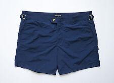 $690 TOM FORD Dark Blue Swimming Trunks Shorts Bathing Suit Size 52 Euro 36 US