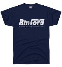 BINFORD TOOLS Funny Home Improvement TEE Tool Time Retro Tim 90s TV t-shirt
