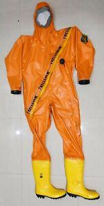 Trellchem Butyl L-45 Chemical Protective Suit / Safety Suit