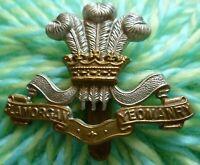 Glamorgan Yeomanry Cap Badges Slider Bi-Metal ANTIQUE Original