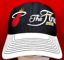 Miami Heat NBA 2011 Finals Adidas flex cap/hat