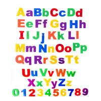 EE_ 26x Lower/Upper Case Alphabet Letters Number Fridge Magnet Kid Learning Toy