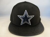 Dallas Cowboys NFL New Era 59FIFTY Fitted Cap Hat Size 6 7/8 Tonal Dot Black