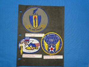USAF / USN Training FTS Squadron Patch Lot (#23)