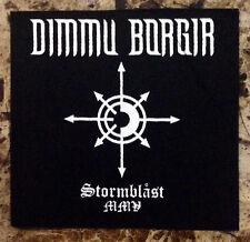 DIMMU BORGIR Stormblast MMV Ltd Ed RARE Cloth Patch +FREE Metal/Rock Stickers!