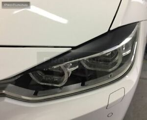 FIBERGLASS HEADLIGHTS EYEBROWS EYELIDS  FOR BMW 3 SERIES F30 F31 F34 MODELS