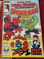 MARVEL TAILS, Peter Porker, SPIDER-HAM  #1 (1983), Marvel COMICS, VF/NM Shape