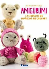Amigurumi: 12 Modelos de Munecos En Crochet (Paperback or Softback)