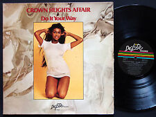 CROWN HEIGHTS Affair Do It Your Way LP DE-LITE RECORDS DEP 2022 US '76 Soul Funk