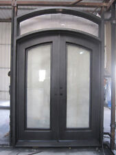"Stunning Wrought Iron Door Set by Monarch Custom Doors 72"" X 108"""