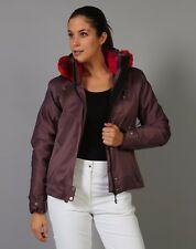 blouson veste ski Degré 7  couleur figue taille 38