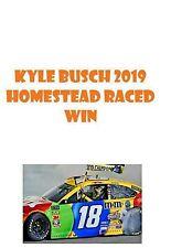 2019 Kyle Busch #18 M&M's Homestead Raced Win 1:24 ELITE  PRE-ORDER  NASCAR