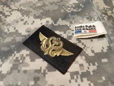 SNAKE PATCH - COMMANDOS MARINE brevet nageur de combat PALME forces spéciales