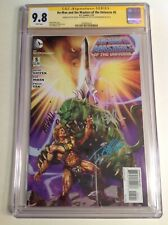 CGC 9.8 SS He-Man and the Masters of the Universe #5 signed Giffen Mhan Wilkins