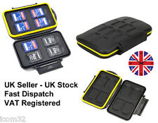 Waterproof SD Card Card Case Wallet Holder Hard Storage Rugged Holds 8 SD Cards