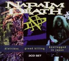 Diatribes/Greed Killing/Bootlegged In Japan von Napalm Death (2011)