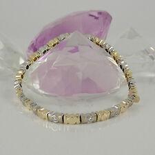 Armband in 750/- Gelb/Weißgold mit 14 Diamanten ca 1,00 ct  Wesselton vsi