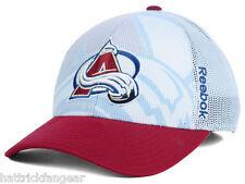 Colorado Avalanche Reebok Nx28z NHL 2nd Season Draft Meshback Hockey Cap Hat 31f59a4c1