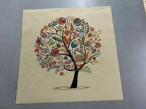Tree Of life Tapestry Fabric Cushion Panel  Make A Cushion  Craft
