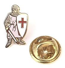 Very Small Discreet Saint George England Patron Saint Enamel Lapel Pin Badge