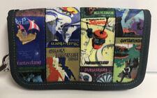 Disney 60th Anniversary Harveys Hipster Disneyland Poster Wristlet Bag Wallet