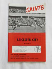 Division 1 Football League Fixture Programmes (1958-1969)