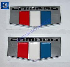 16-17 Camaro Front Fender Self Adhesive Emblems  NEW GM PAIR  152X2