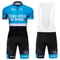 2021 Men's Cycle Sports Clothing Short Jersey Bib Shorts Set Cycling Shirt Pants