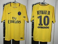 Paris Saint-Germain PSG 2017 2018 Neymar Jr Away Nike Shirt Jersey Trikot Size M