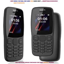 New Nokia Mobile Phone Dual Sim Black 100% Origional Nokia SIM FREE UNLOCK