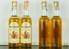 2 X MAC QUEEN FINEST RARE BLENDED SCOTCH WHISKY ANNI '90 70 CL 40°