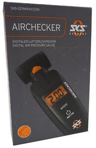 SKS Airchecker 2 Digital Presta & Schrader Valve Gauge Bike Car Pressure 144psi
