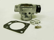 OBX Gray Throttle Body 70mm 02 03 04 RSX Type S 03 04 05 Civic Si K Series