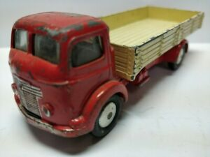 Corgi Toys Ref 452-A Commer Dropside Truck Red  1956-62  Good NB  1/43  Diecast