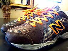 ~!Men's NEW BALANCE 624 Running Shoes Brown 990 574 Camo/Hunting/Fishing. Size 7
