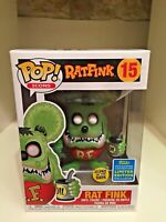 RAT FINK GLOW SDCC 2019 SUMMER CONVENTION EXCLUSIVE LIMITED FUNKO POP ICONS #15