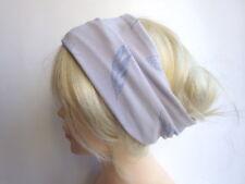 Haarband flieder lila Feder