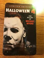 Halloween 4 The Return of Michael Myers Limited Edition TIN RARE #03693 NEW OOP