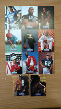 1991 Proline Portraits Football series, Lot of 11: Golic, Theisman, Fralic