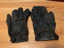 Vintage Army Military Chippewa Globe Co. Black Leather Glove. Size M