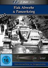 Flak Abwehr & Panzerkrieg - 2.Weltkrieg - 2 DVD BOX NEU Sammlung Doku Geschichte